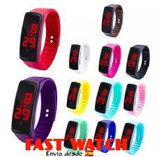 Reloj deportivo LED. Sport watch. Varios colores disponibles.