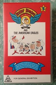 ROGER RAMJET VHS Volume 2, Classic 1960s Kids & Adult Cartoons BRAND NEW, SEALED