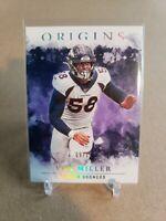 2020 Panini Origins Von Miller FOTL Purple /17 SSP Denver Broncos