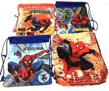 Kids Character Swim Bag, Gym Bag, Pump Bag, Sports SPIDER MAN Boys OR Girls