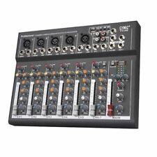 4 Canales Portátil Audio Mezclador Mesa de Mezclas Con USB Dj Para Karaoke Ktv