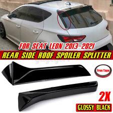 für Seat Leon III (5F) Cupra Variant Vertikal Spoiler Heckklappe Tuning SCHWARZ
