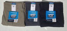 NEW Men's HAGGAR IN MOTION Pants, Straight Fit, Active Flex 5 Pocket,36W X 32L