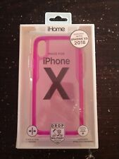 IHome  iPhone X  PINK  Impact Phone Case
