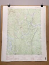 Limington Maine York County Map Topographical Survey Standish Waterboro Hollis +