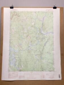 Limington Maine York County Map Topographical Survey Standish Waterboro Hollis +