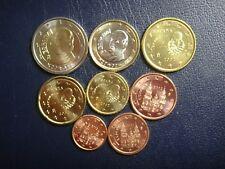ESPAÑA 2002 SERIE 8 MONEDAS EURO