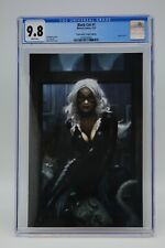 Black Cat (2021) #1 Ryan Brown CE Virgin Variant CGC 9.8 Blue Label White Pages