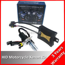 55W H4 H/L HID Bi Xenon Light Kit Headlight Motorcycle Motorbike Bike Lamp