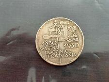 More details for poland 5 zlotych zŁotych 1930 uprising 100th anniversary