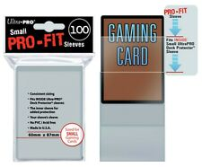 Ultra Pro - Pro-Fit Card Sleeves - Small-Sized x100