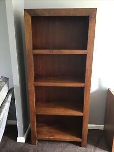 Next Dakota Mango Bookcase