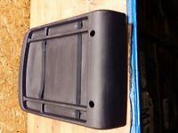 PEUGEOT 1007 05-10 N/S FRONT NEARSIDE PASSENGER SIDE SEAT BACK COVER TRIM
