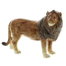 Collectable Enamel Wild & Exotic Animal Delicate Figurine ~ Lion AP182 SALE