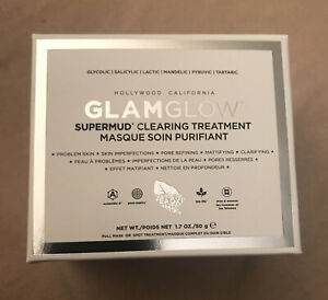 Glamglow Supermud Clearing Treatment 1.7oz/50g NIB New Package Design