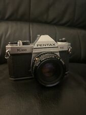 New listing Pentax k1000 Se 35mm Slr Film Camera With smc-a 50mm F/2 Lens
