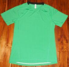 Lululemon Authentic Men's Kelly Green Ss Performance Shirt size M.Nwot 00000Ef3