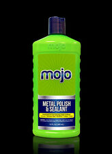 Mojo Metal Polish & Sealant Stainless Steel Chrome (12 oz. Bottle) By Roadworks