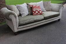 Designer TETRAD Elgar Grand sofa chesterfield style RRP £1846