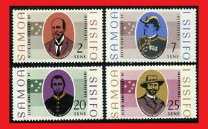 ZAYIX - 1968 Samoa 279-282 MNH - statesmen