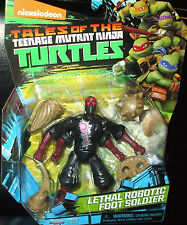 Tales of the Teenage Mutant Ninja Turtles ~ LETHAL ROBOTIC FOOT SOLDIER~  Figure