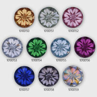 12mm Round Druzy Resin Embellishment Cabochons Prism Cabochons Glitter Cabochons