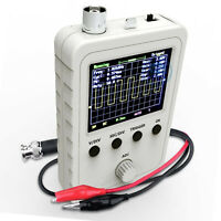 """2.4"""" LCD Display DSO150 Digital Oscilloscope Assembled With Case Test Clip DIY"""