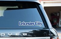 """Leicester City midlands window / bumper stickers/decals 2 pack 8"""" (200mm) car"""