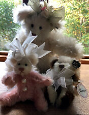 Annette Funicello Chippie Limited Edition/Danielle Angel / Pink Mohair Bear Lot