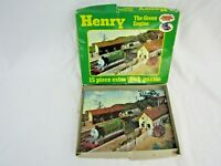 Thomas The tank Engine & Friends Henry 15 piece jigsaw puzzle vintage N1