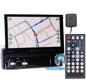 "SOUNDSTREAM VRN-75HB 7"" CD DVD BLUETOOTH GPS USB NAVIGATION 300W AMPLIFIER RADIO"