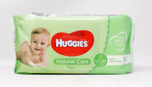 Huggies Natural Care with Aloe Vera Baby Wipes 56 Count