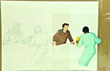The Real Ghostbusters ORG Hand Painted Animation Cel & Hand Drawn Sketch 17-42