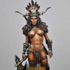 â–ˆ 1/12 Resin Female Tribe Queen Figure Bust Unassembled Unpainted 3597