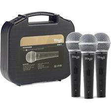 3 MICROS CARDIOIDE DYNAMIQUE PROFESSIONNEL POUR voix et instrument SDM50