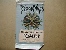 BLOOD WARS BOOSTER ESCALATION PACK II FACTOLS & FACTIONS TSR DUNGEONS & DRAGONS