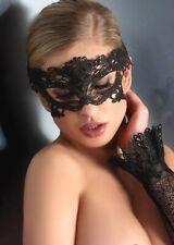 Masque dentelle sexy gothique/ Halloween/ soirée/ masquerade, erotic lace mask