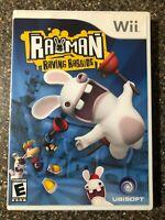 Rayman Raving Rabbids - Nintendo Wii - Clean & Tested Working - Free Ship