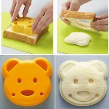 Bear POP UP Toast Bread Sandwich Stamp Mold Cutter Maker Bento Accessories 2016
