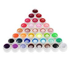 Anself 36 Nail Art UV Gel Set Farbgel Effekt-Gele Nagel Design Für Fingernägel