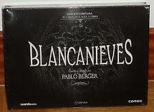 BLANCANIEVES EDICION LIMITADA BLU-RAY+DVD+B.S.O.+LIBRO NUEVO PRECINTADO MUDA R2