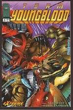 "Team Youngblood #3--""The Final Countdown""--1993 Comic Book"