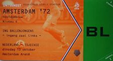 mint TICKET 13.10.2015 Nederland Holland - Czech Republic
