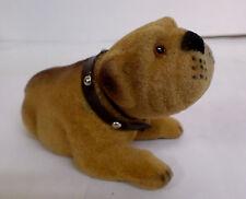 Classic Vintage style Pitbull Dog Bobble Nodder Head Bobblehead Puppy Figurine