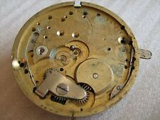 Signal-Beurret Freres Geneve pocket watch movement for parts/repair.Ca. 1910y
