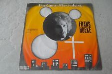 FRANS HOEKE THE GREAT MAN IS DYING 45 DUTCH 1971 VERY RARE