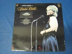 RECORD ALBUM PETULA CLARK AN HOUR IN CONCERT WITH 3336
