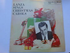 Mario Lanza ‎– Lanza Sings Christmas Carols LP, Aus