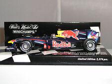 Minichamps 410100205 Red Bull Renault brasileño Rb6 Auto De F1 2010 S Vettel 1:43