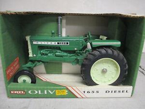 (1994) Ertl Oliver Model 1655 Diesel Toy Tractor, 1/16 Scale, NIB